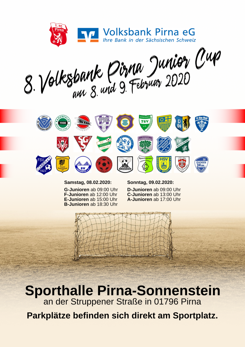 8. Volksbank Pirna Junior Cup